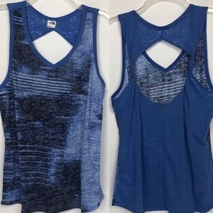 THE NORTH FACE key hole back tank top